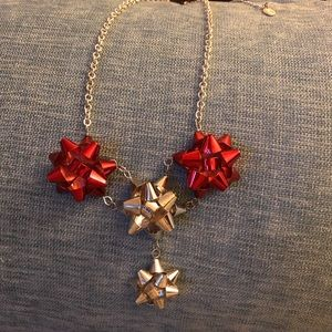 Gift Bow Necklace